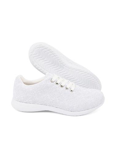 Letoon 2065 Kadın Günlük  Ayakkabı Beyaz